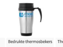 Thermosfles bedrukken