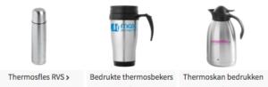 Thermosfles bedrukken